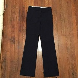 JCrew Edie Trouser, Navy, size 0